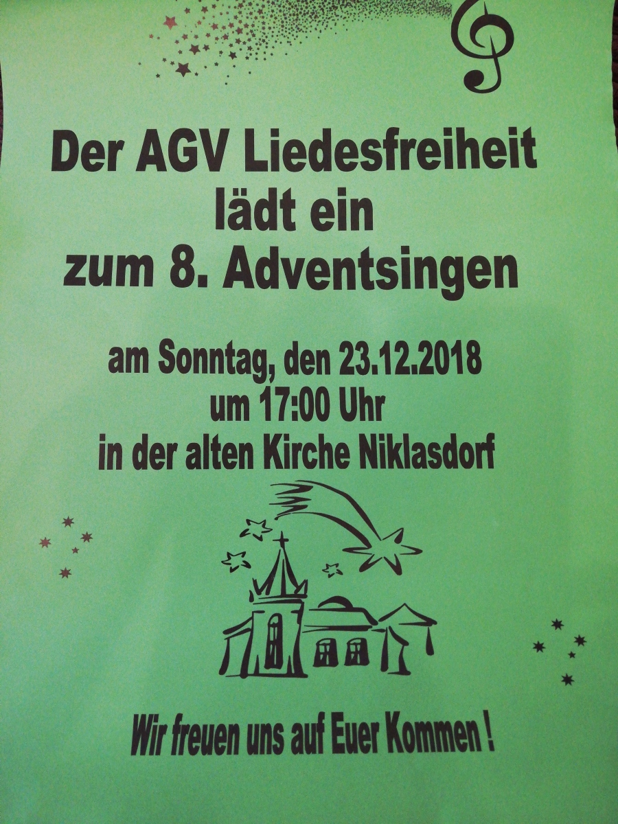 8. Adventsingen